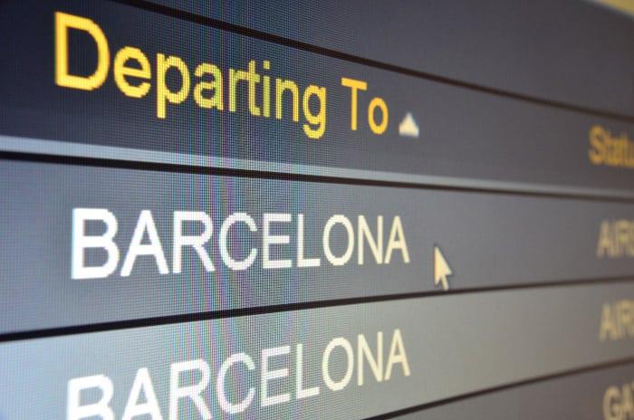 Сколько лететь до Барселоны