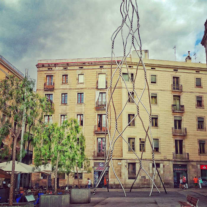 Площадь Sant Miquel