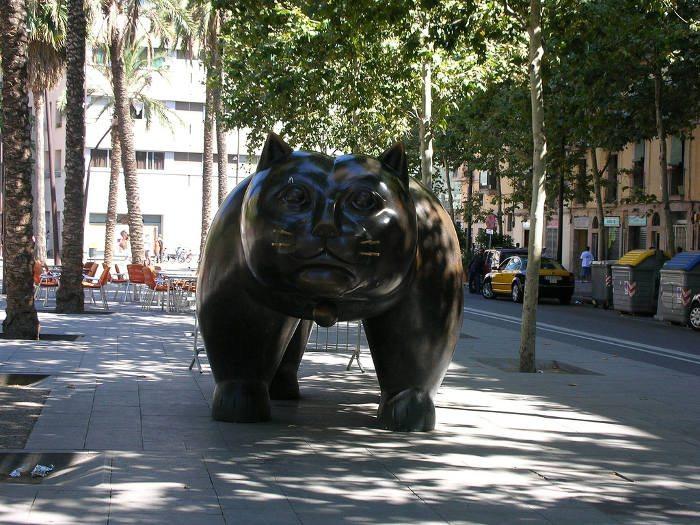 самый большой кот города