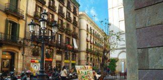Старый город Барселоны