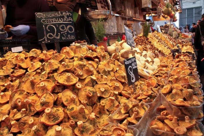 На рынке в Барселоне