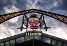 Центральный рынок в Барселоне