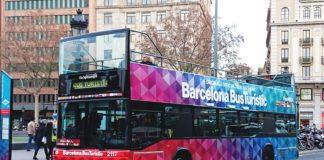 Экскурсионный автобус Барселоны