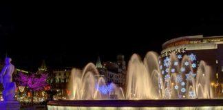 Зима в Барселоне