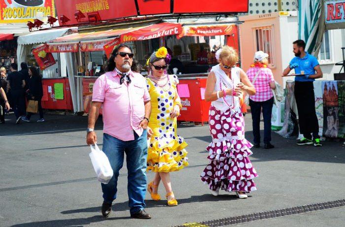 Как одеваются горожане на Feria de Abril