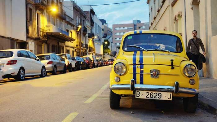 Автомобиль в Барселоне: парковка