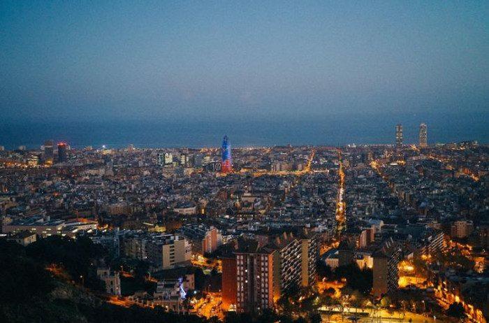 Барселона с высоты: Бункер дель