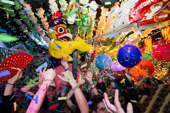 Апрельская ярмарка «Feria de Abril» в Барселоне