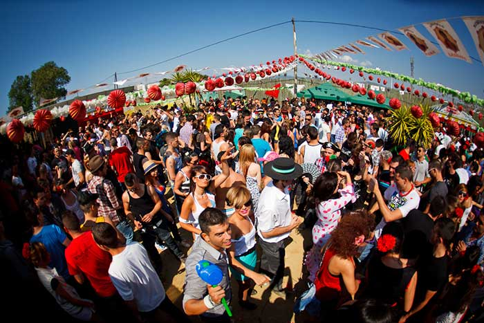Feria de Abril в Барселоне в 2017 году