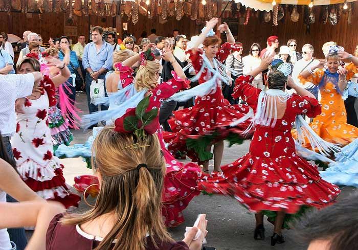 """Feria de Abril"" в Барселоне"