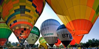 Фестиваль воздушных шаров в Барселоне