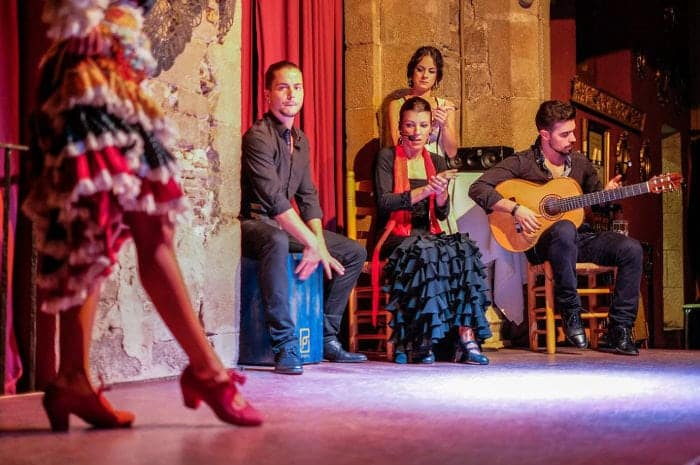 Программа фламенко во Дворце Далмасес