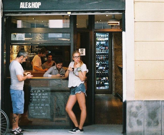 Лучшее пиво в Барселоне в Ale&Hop