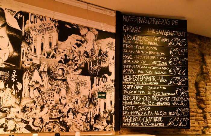 Выбор вегетарианских блюд в Ale&Hop