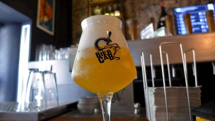 Пиво в Biercab в Барселоне