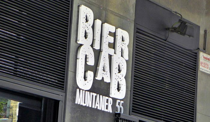 Пивной бар в Biercab в Барселоне