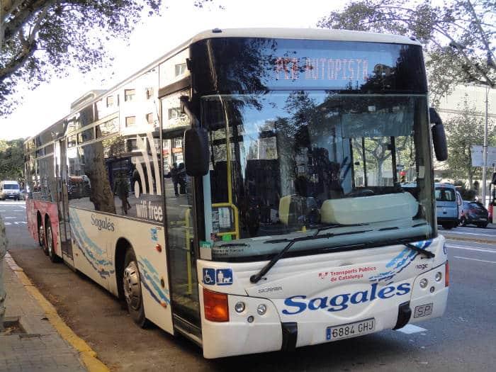 Из Барселоны до Калельи на прямом автобусе
