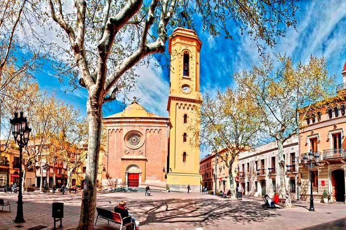 Plaça de la Concòrdia: бывшая главная площадь города