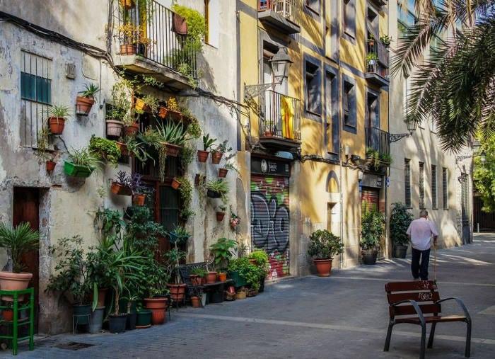 Allada Vermell – киногеничная улица