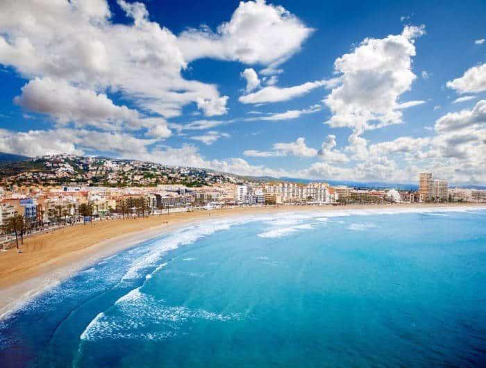 Пляж в испании аликанте чартер