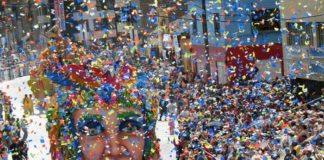 Сладкий фестиваль Sant Medir в Барселоне