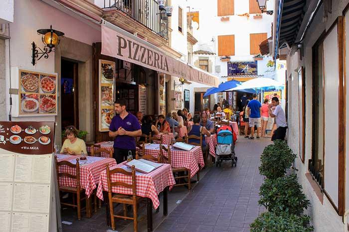 Ресторанчики в Тосса де Мар