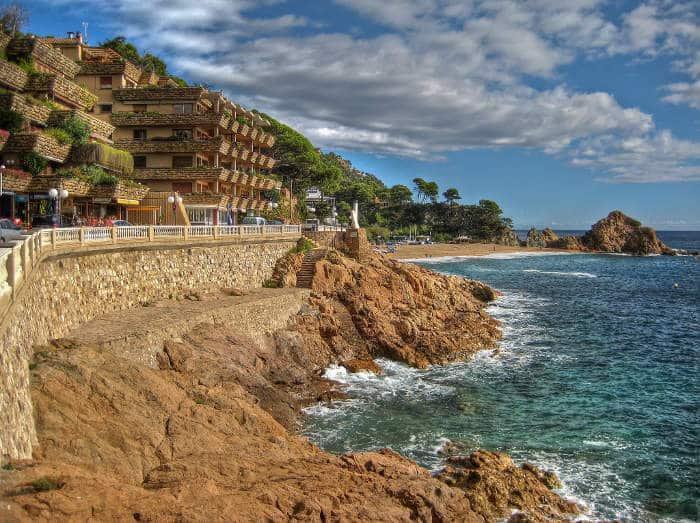 Пляжи Тосса де Мар