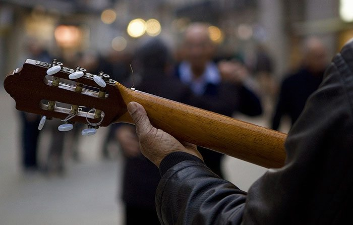 Живая музыка в Барселоне
