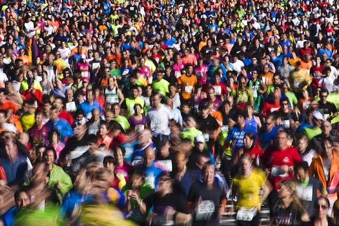 39 марафон El Corte Ingles в Барселоне