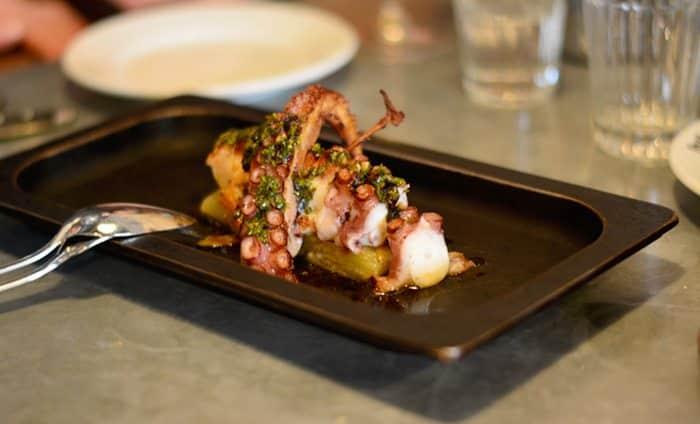 Кухня в El Chigre 1769 Ресторан в Барселоне