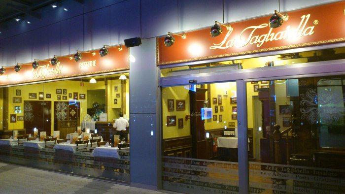 Сеть итальянских ресторанов LA TAGLIATELLA