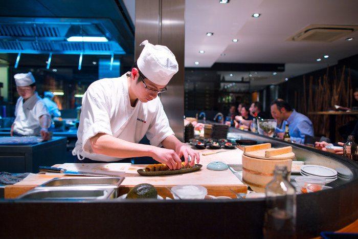 Процесс изготовления блюд