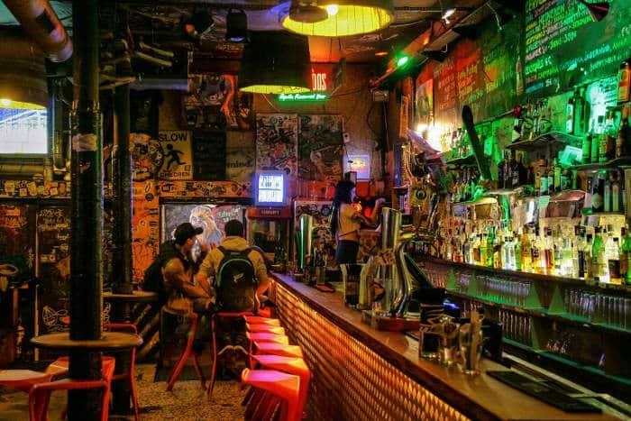 Рок-клуб в Барселоне Nevermind