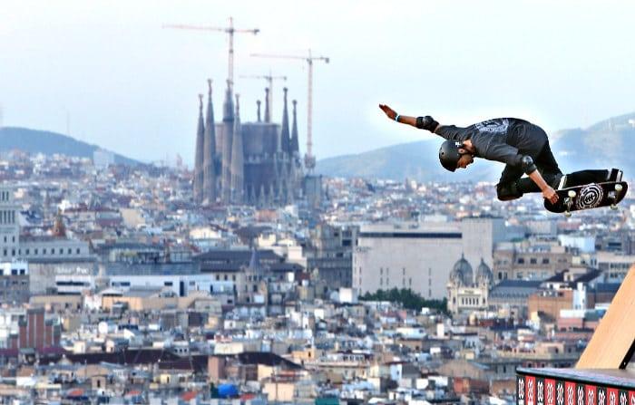 Скейт в Барселоне