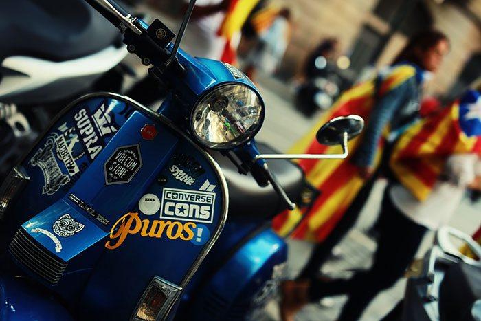 Скутеры в Барселоне: преимущества