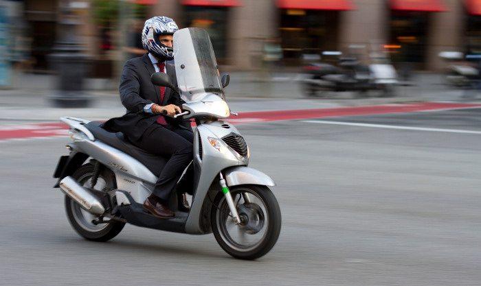 Скутеры в Барселоне