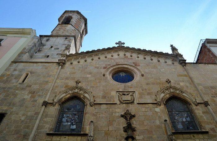 Церковь Святого Иакова в Барселоне