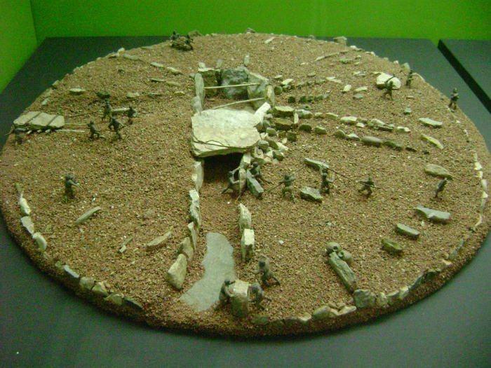 Экспонат археологического музея Каталонии