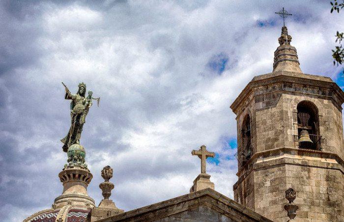 Купол у базилики Милосердной Девы Марии