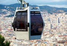 Канатная дорога Телеферик в Барселоне