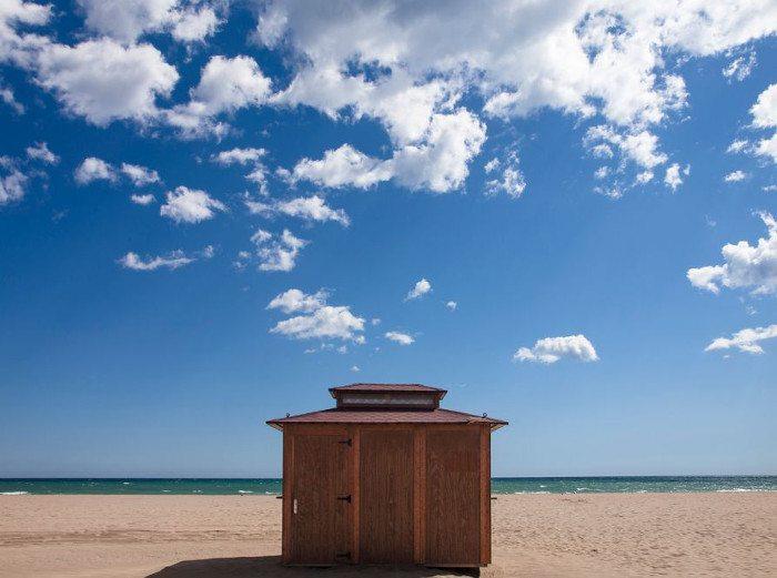 Пляжи Кастельдефельса