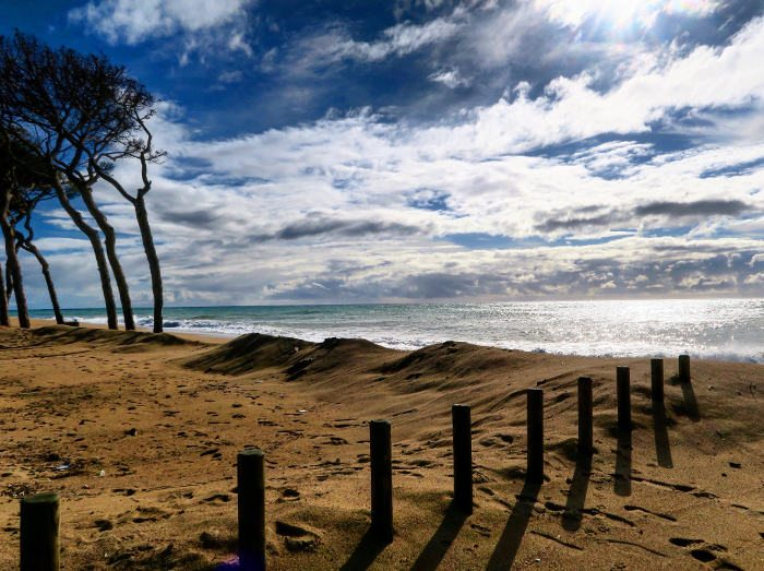 Пляжи в Мальграт-де-Маре