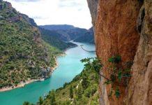 Уникальное ущелье Монт Ребей в Каталонии
