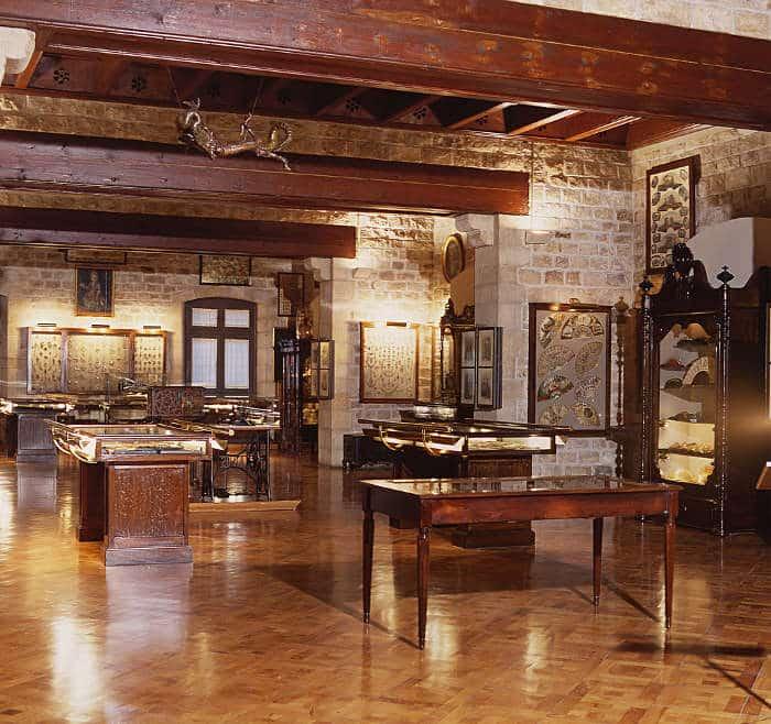 В музее Фредерика Мареса