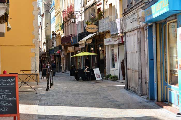 французский городок Нарбонна