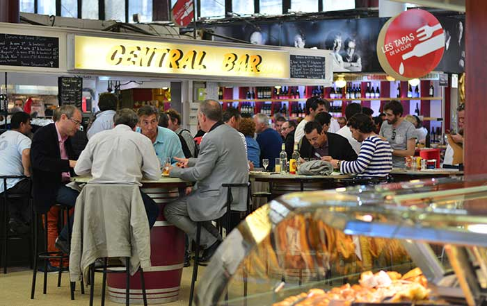 Крытый рынок Les Halles