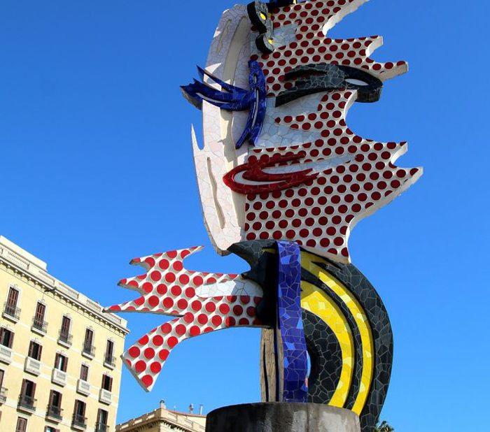 Скульптура Роя Лихтенштейна