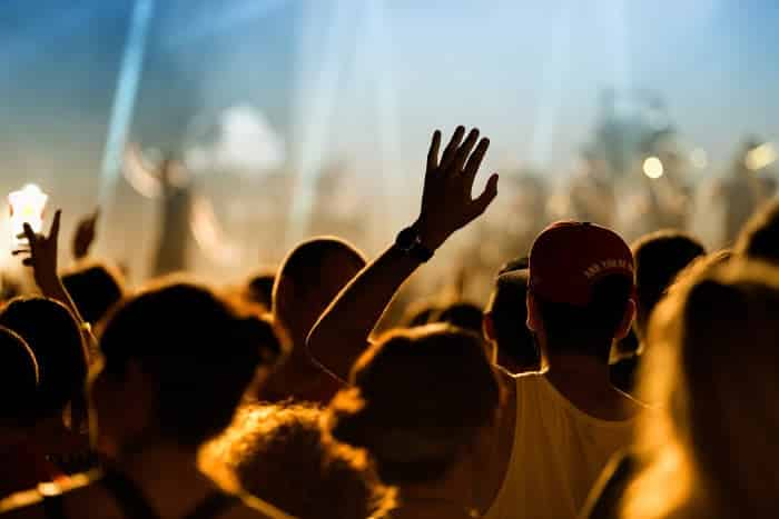 На фестивале Sonar