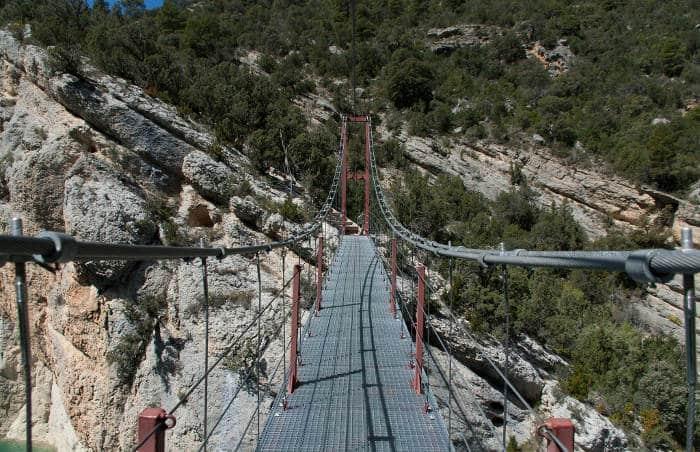 Подвесные мосты ущелья Монт Ребей