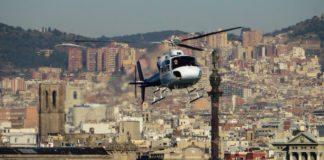 Вертолет в Барселоне